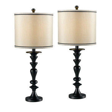 Kenroy Home Bobbin 2-Pack Table Lamp