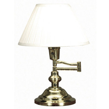 Kenroy Home Classic Swing Arm Desk Lamp