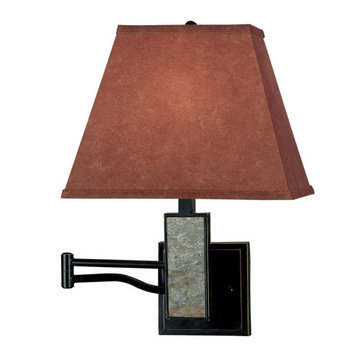Kenroy Home Dakota Wall Swing Arm Lamp