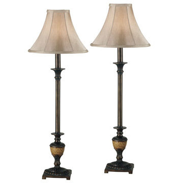 Kenroy Home Emily Buffet Lamp 2-Pack