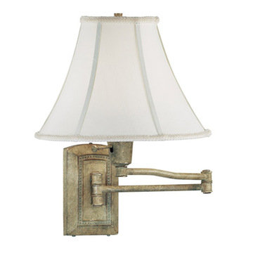 Kenroy Home Isabelle Wall Swing Arm Lamp