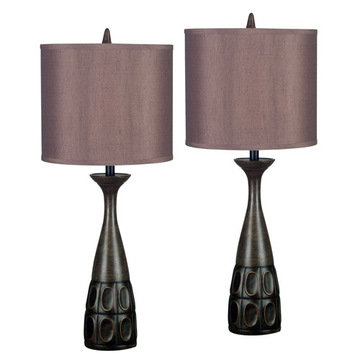 Kenroy Home Jules 2-Pack Table Lamp
