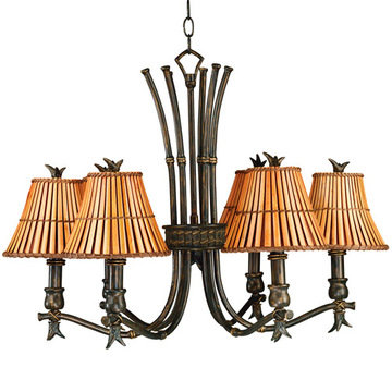 Kenroy Home Kwai 6 Light Chandelier