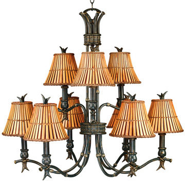 Kenroy Home Kwai 9 Light Chandelier