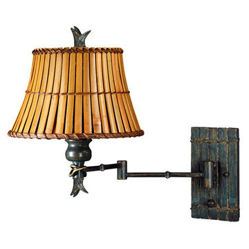 Kenroy Home Kwai Wall Swing Arm Lamp