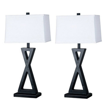 Kenroy Home Logan 2-Pack - Table Lamps