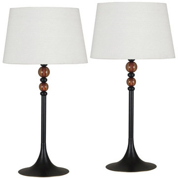 Kenroy Home Luella 2-Pack Table Lamps