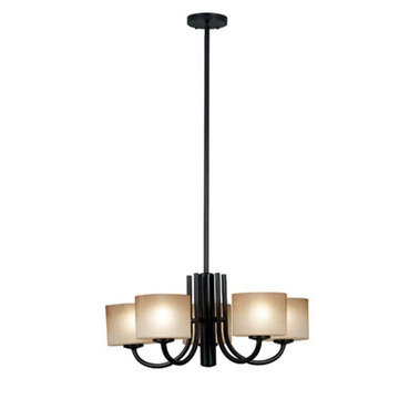 Kenroy Home Matrielle 5 Light Convertible Chandelier