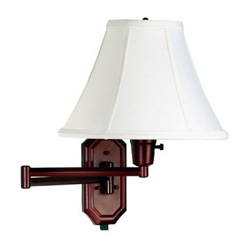 Kenroy Home Nathaniel Wall Swing Arm Lamp
