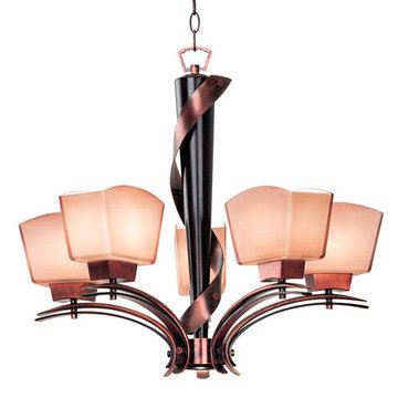 Kenroy Home Oslo 5 Light Chandelier
