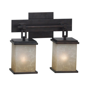 Kenroy Home Plateau 2 Light Vanity