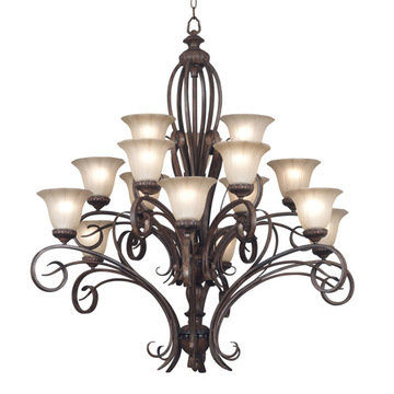 Kenroy Home Rochester 15 Light Chandelier