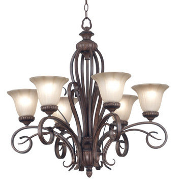 Kenroy Home Rochester 6 Light Chandelier