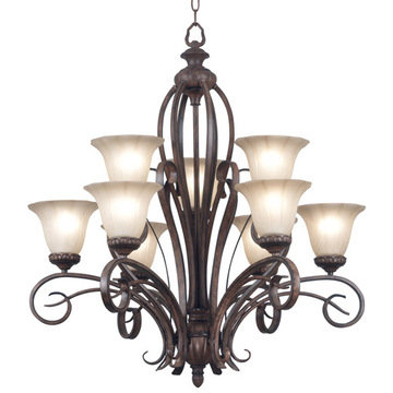 Kenroy Home Rochester 9 Light Chandelier