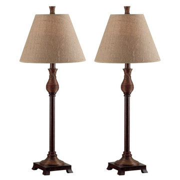 Kenroy Home Santiago Buffet Lamp 2-Pack
