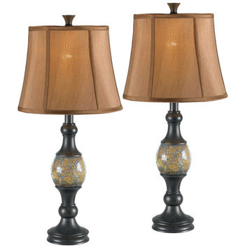 Kenroy Home Shay 2 Pack Table Lamps