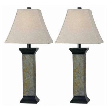 Kenroy Home Suffield 2-Pack Table Lamp