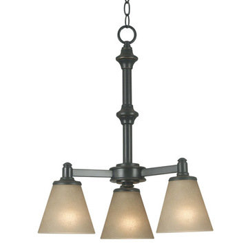 Kenroy Home Tallow 3 Light Chandelier