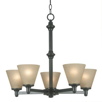 Kenroy Home Tallow 5 Light Chandelier