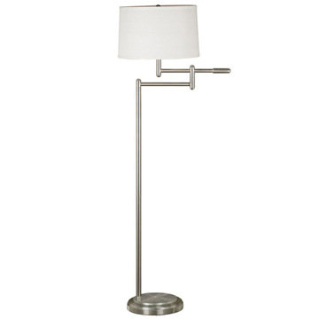 Kenroy Home Theta Swing Arm Floor Lamp