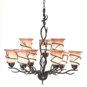 Kenroy Home Twigs 9 Light Chandelier