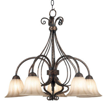 Kenroy Home Wallis 5 Light Down Light Chandelier