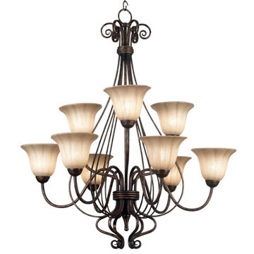 Kenroy Home Wallis 9 Light Chandelier