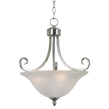 Kenroy Home Welles 3 Light Convertible Semi-Flush