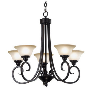 Kenroy Home Welles 5 Light Chandelier
