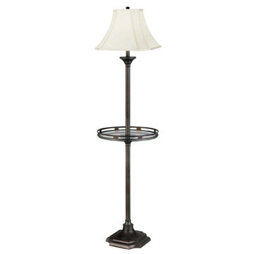 Kenroy Home Wentworth Floor Lamp With Gallery Tray