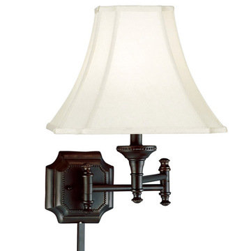 Kenroy Home Wentworth Swing Arm Wall Lamp