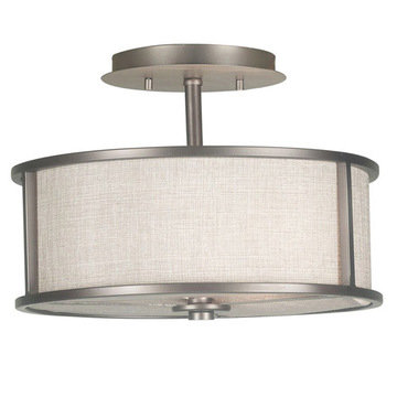 Kenroy Home Whistler 2 Light Semi Flush