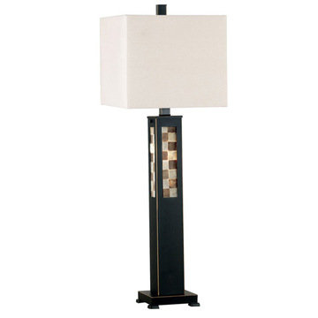 Kenroy Home Windowpane Table Lamp