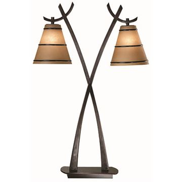 Kenroy Home Wright 2 Light Table Lamp