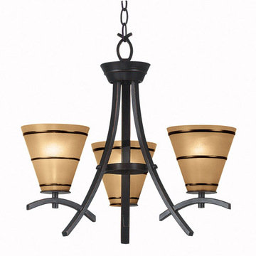 Kenroy Home Wright 3 Light Chandelier