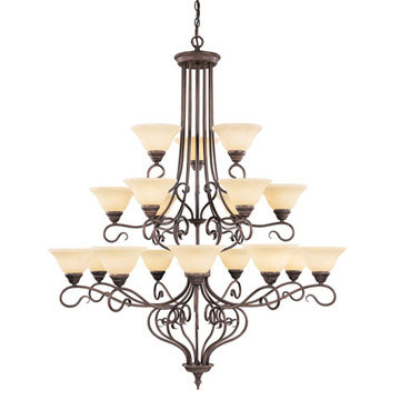 Livex Lighting Coronado 18 Light Chandelier