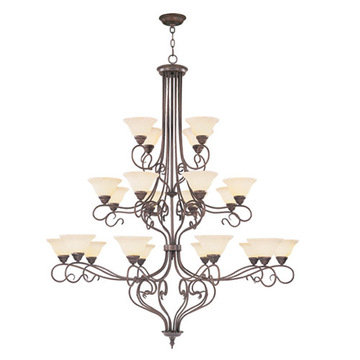 Livex Lighting Coronado 22 Light Chandelier