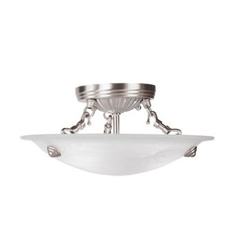 Livex Lighting Coronado 3 Light Ceiling Mount Light