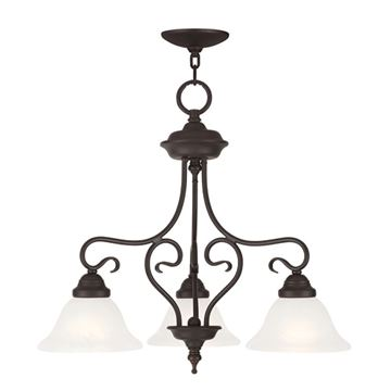 Livex Lighting Coronado 3 Light Chandelier