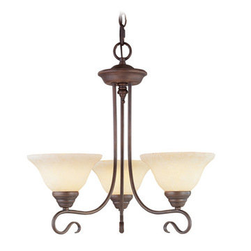 Livex Lighting Coronado 3 Up Light Chandelier