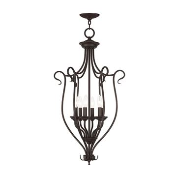 Livex Lighting Coronado 6 Light Foyer Lamp