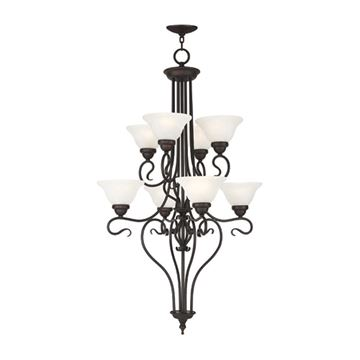 Livex Lighting Coronado 8 Light Chandelier