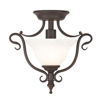 Livex Lighting Coronado Mini Semi Flush Light