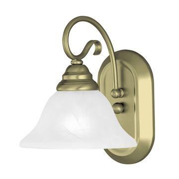 Livex Lighting Coronado Scroll Single Vanity Light