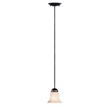 Livex Lighting Home Basics 1 Light Mini Pendant Light