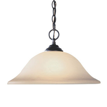 Livex Lighting Home Basics 1 Light Pendant Light