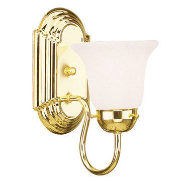 Livex Lighting Home Basics 1 Light Vanity Light