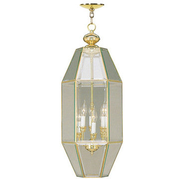 Livex Lighting Home Basics 6 Light Hall And Foyer Lamp