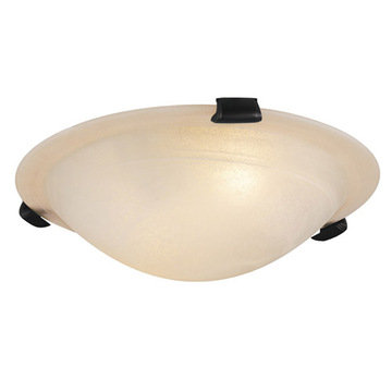 Livex Lighting Home Basics Frameless Ceiling Light With Honey Alabaster Glass