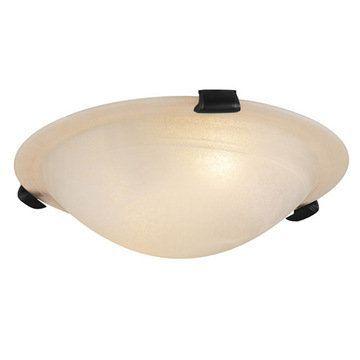 Livex Lighting Home Basics Frameless Ceiling Light With Honey Alabaster Glass